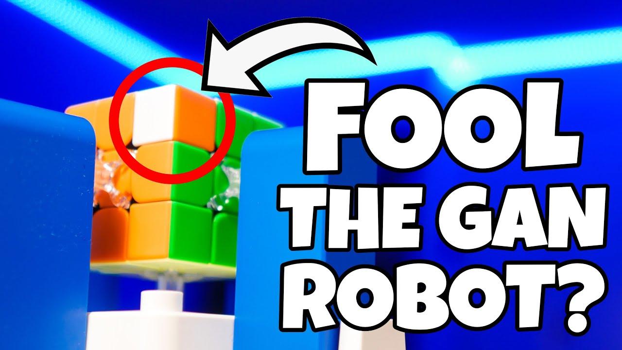 CAN I FOOL THE GAN ROBOT?!