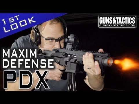First Look At The Maxim Defense PDX