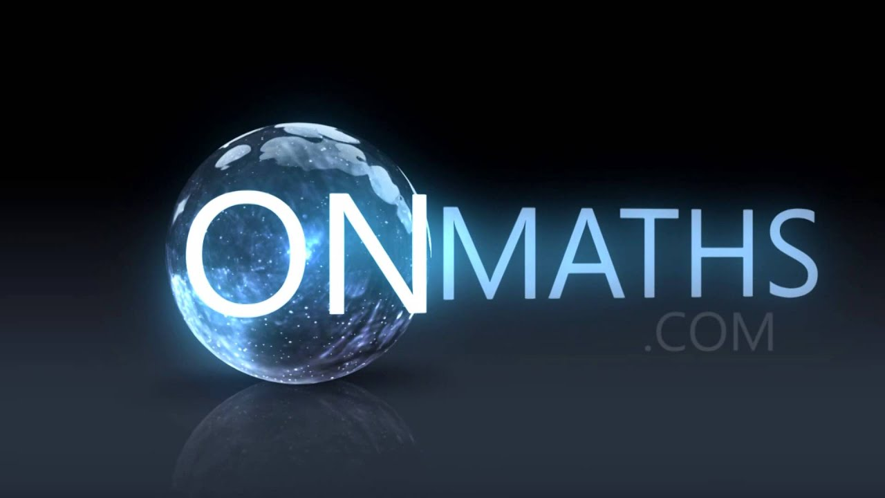 Image result for onmaths.com logo