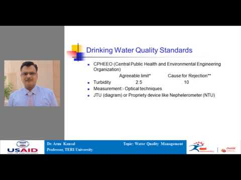 Water Quality Management by Dr Arun Kansal
