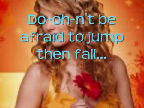 Jump Then Fall Lyrics by Taylor Swift