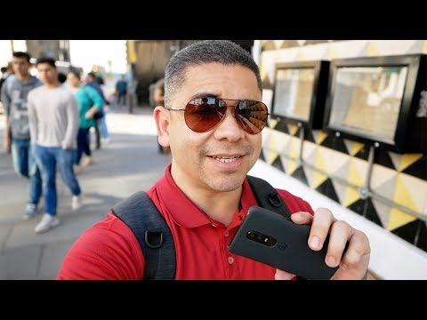 OnePlus 6 Camera - In Real Life: London Graffiti! | Pocketnow