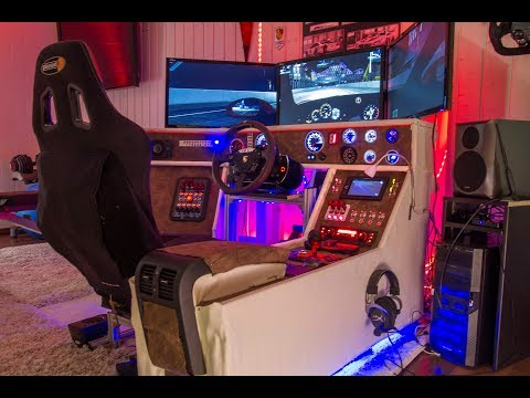 Simracing Cockpit, Simracing Hardware, Simulation, Rig, DIY Cockpit