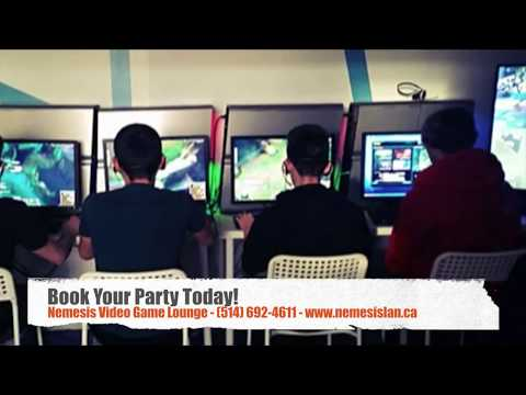 Nemesis Video Game Lounge -