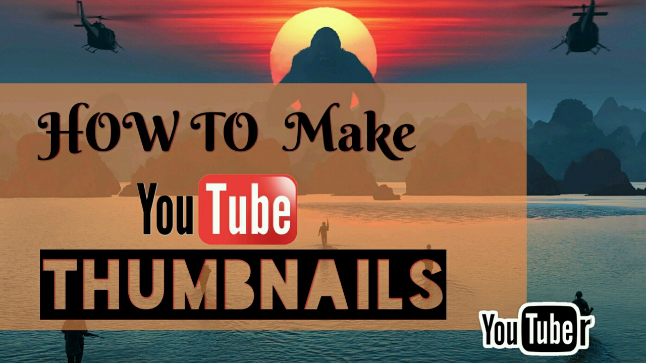 how to make video thumbnails on youtube