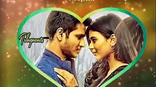Ekkadiki Pothavu Chinnavada BGM Cut #2 | Telugu Whatsapp Status Video | Telugu Love BGM