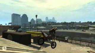 GTA IV Bike Stunts Ballad of Gay Tony awesome Stunts