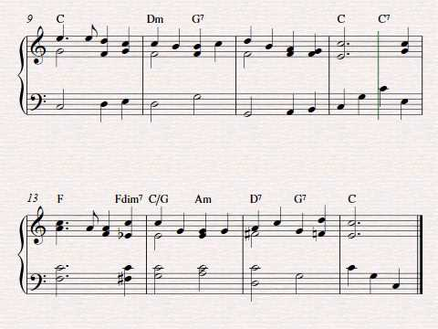 Free easy piano sheet music - America The Beautiful