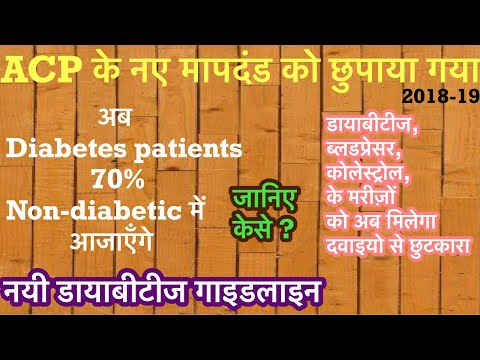 acp-guidelines-2019-(-american-college-of-physicians-)for-diabetes,-blood-pressure,cholesterol.hindi