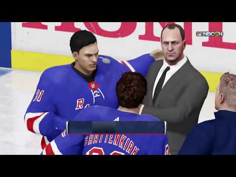 NHL 18 OT Game 7 Stanley Cup Game Celebration