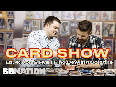 American Gladiators, Bowling Cologne, and Nameless Baseball Wives | Card Show, Episode 4