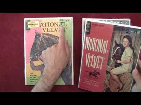 Reading Comics: National Velvet #1, Four Color #1195, Dell Comics, 1961 - ASMR - Male, Horses
