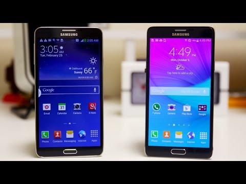 Samsung Galaxy Note 4 vs Samsung Galaxy Note 3 - Full Comparison