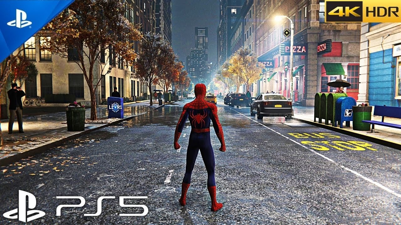 (PS5) Spider Man looks BEAUTIFUL ON PS5 | Ultra High Realistic Graphics Gameplay [4K HDR]