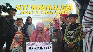 Dato' Sri Siti Nurhaliza Ziggy Zagga  Reaction & Challenge dg Gen Halilintar Heboh!