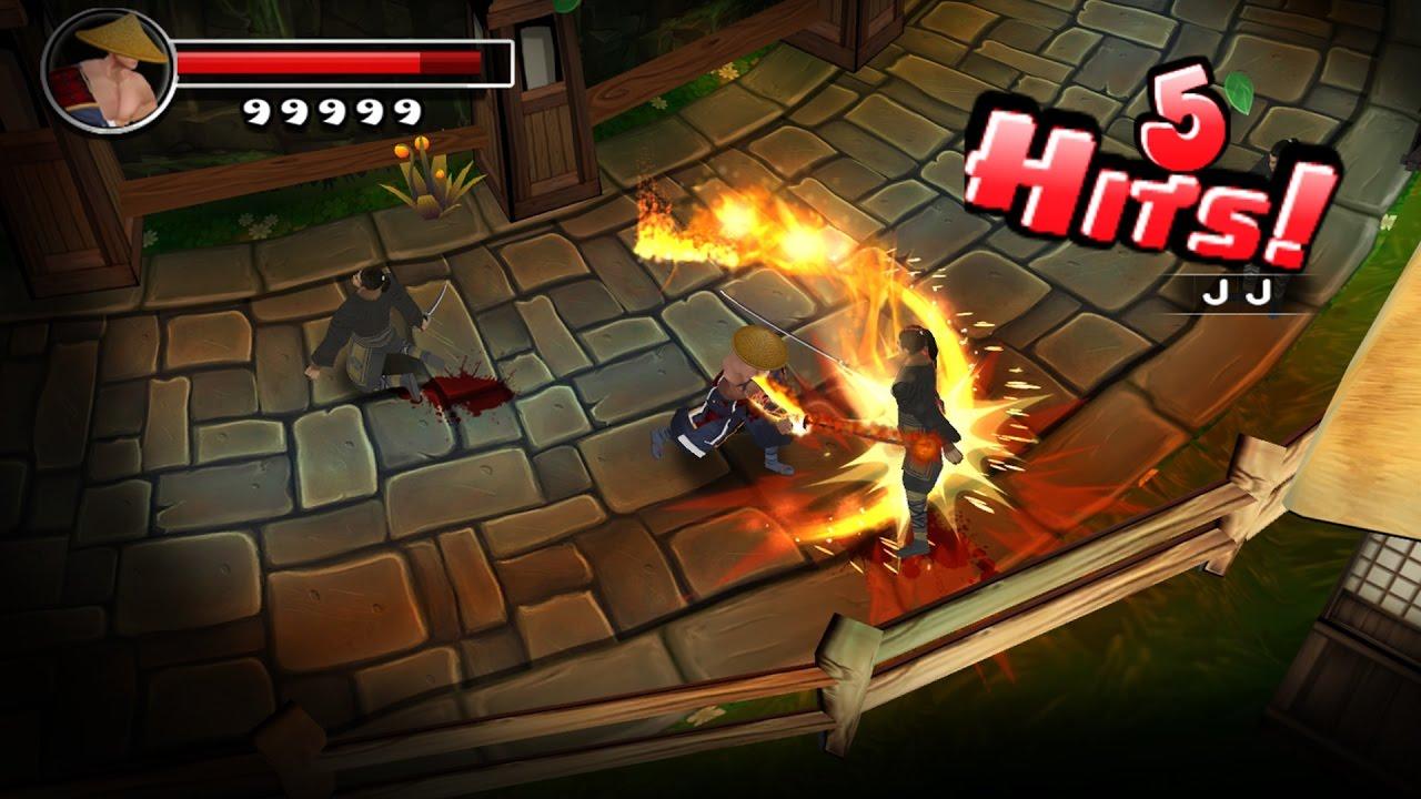 ninja avenger dragon blade  steam game trailer  youtube