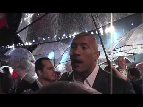 "Premiere: G.I. Joe: Retaliation | Dwayne ""The Rock"" Johnson, Jonathan Pryce (The Fan Carpet)"