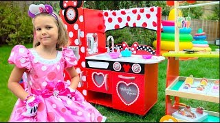 Katy play with baby toys Compilation fun video for Kids