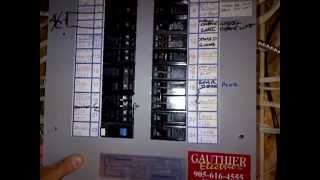 Servicing a 90's 100A Commander Bolt On Breaker Panel