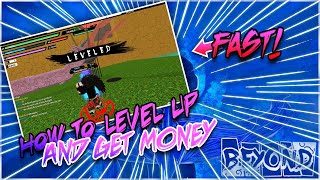 [CODES] HOW TO LEVEL UP & GET RYO FAST!| NEW LEVELING UP METHOD?| ROBLOX NRPG- Beyond