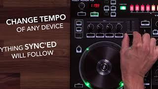 Roland DJ-505: Sync TR-S Sequencer to Serato