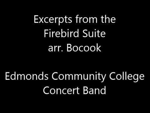 Excerpts from the Firebird Suite arr. Bocook