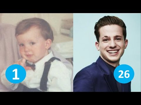 Charlie Puth before and after | From 1 to 26 years old 😂😂