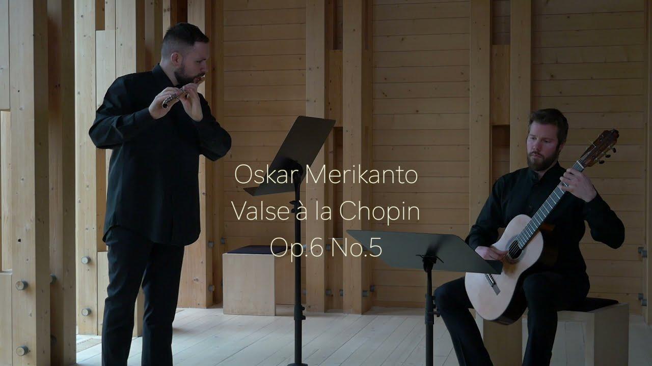 Oskar Merikanto - Valse à la Chopin, op. 6/5 Robert Tobin and Jonne Grans