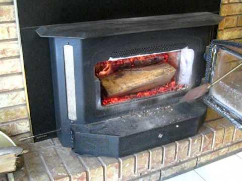 Regency Woodburning Fireplace Insert / Stove - YouTube