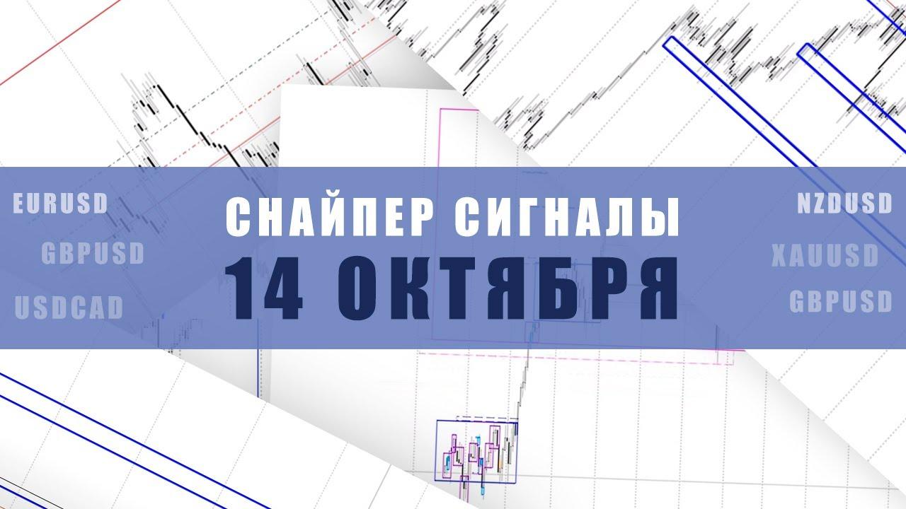 СИГНАЛЫ СНАЙПЕР НА 14 ОКТЯБРЯ  | Трейдер Максим Михайлов
