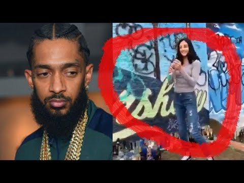 Nipsey Hussle Mural DESTROYED by Woman in Connecticut