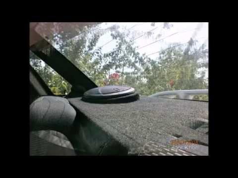 Видеозапись Акустическая полка на ВАЗ - 2110