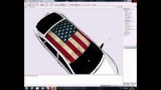 Видео урок: Накладование флага на авто для gta sa