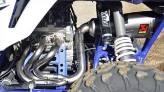 utv sound off yamaha yxz1000r akrapovic exhaust system