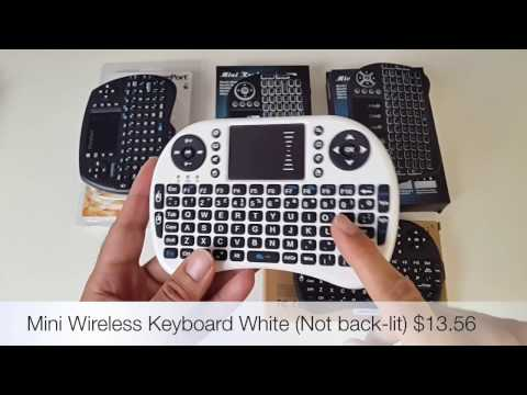 The Best Mini Wireless Keyboards 2017 - Andoird TV Box / PC / MAC / Game Consoles