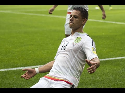 Javier Hernandez's Amazing Diving Header Goal vs Portugal || Vintage Chicharito Finish 720 HD