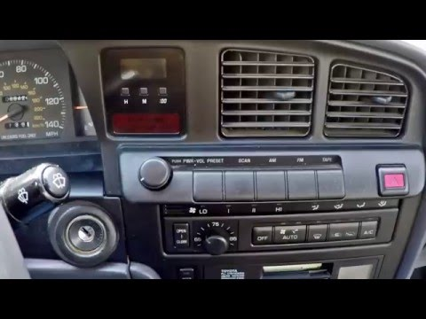 Toyota Cressida Dashboard Madness