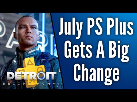 Sony Changed July 2019's PS Plus Lineup | PES 2019 Swapped Out for Detroit  Become Human