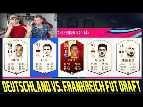 FIFA 19: Wird das die absolute BLAMAGE? Deutschland vs Frankreich FUT DRAFT vs BRUDER Ultimate Team