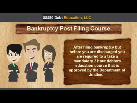Bankruptcy Post Filing Course
