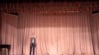 金文泰中學2015-2016年度 歌唱比賽決賽 鍾珊珊