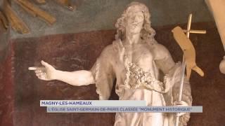 Magny-les-Hameaux : l'Eglise de la commune classée