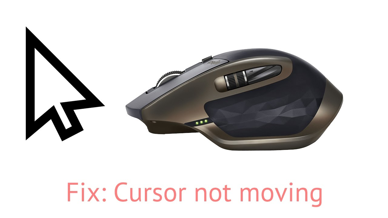 FIX: MX Master cursor not moving (but all other function work) (lift  gesture button!)