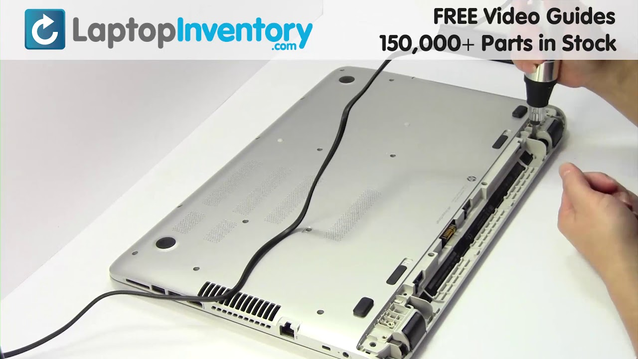 HP PAVILION 17-F Touchpad Replacement Palmrest Repair Guide Install Laptop  15-P 17T 17Z 9Z N9HBQ 901