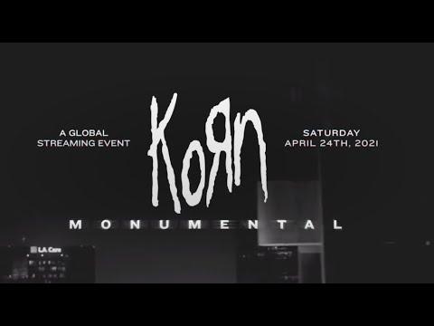 Korn finish writing new album their 14th! + 'Korn: Monumental' livestream concert!