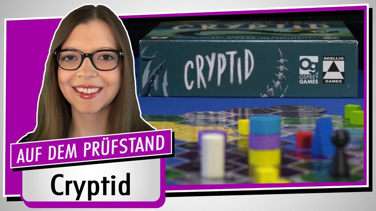 Spiel doch mal CRYPTID! - Brettspiel Rezension Meinung Test #384