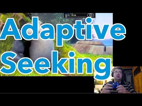 Kodi Adaptive Seeking