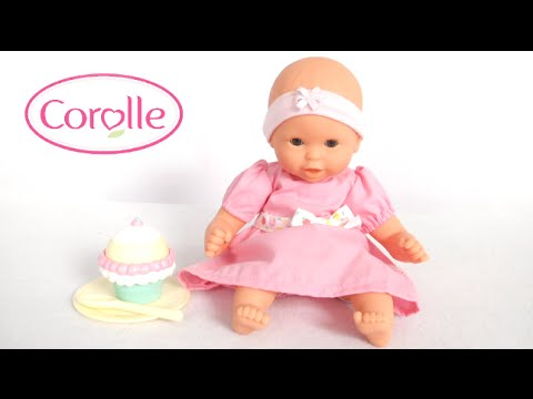 mon premier bebe calin cupcake set from corolle youtube. Black Bedroom Furniture Sets. Home Design Ideas