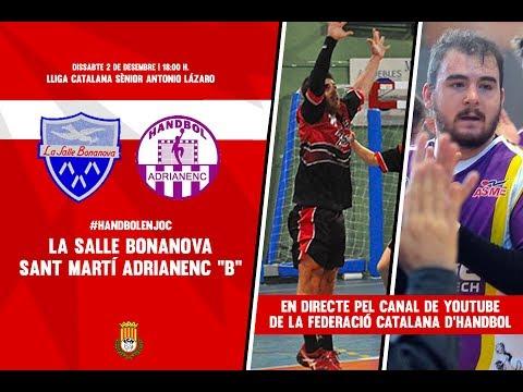 La Salle Bonanova - Sant Martí Adrianenc B | Lliga Catalana Antonio Lázaro