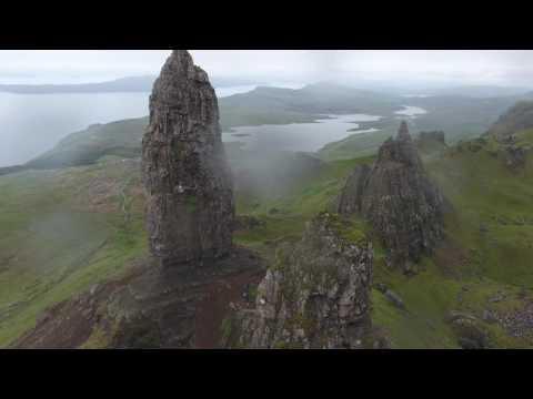 Switzerland, Scotland, and Ireland in 4K - Phantom 4 drone footage